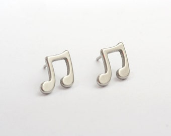 Music Stainless Steel Earring Post Finding (E29612A)
