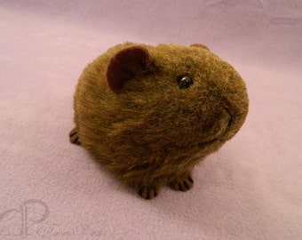 Little Brown Guinea Pig Plushie