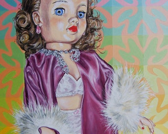 Patsy's Purple Peignoir