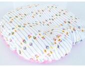 NEWBORN LOUNGER COVER  / Zipper closure  /  Arrow minky print / soft plush fabric / Great  baby shower gift