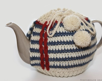 CROCHET PATTERN - Notebook Tea Cozy - Instant Download (PDF)