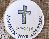 First Communion Gift - Baptism Gift - Personalized Religious Keepsake