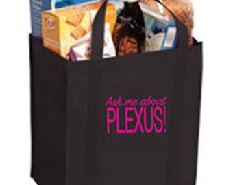 Ask Me About Plexus Grocery Tote