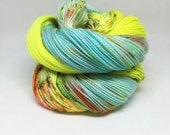 Dyed to order Hand Dyed Yarn - Scummy Koi Pond