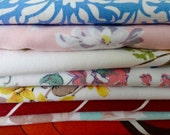 RESERVED FOR TERESA  Lot of 8 Vintage Tablecloths