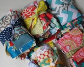 Scrap Pack - Small Scrap Fabric pieces - Equal to One Yard or More by Weight
