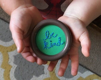 be kind- mini hoop