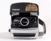 Polaroid OneStep Silver Express Instant Camera, 600  - Tested, Working