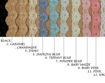 Lace Swatches - samples