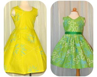Emotions Dress - sizes 2 -14 girls
