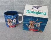 Disneyland 35 Years of Magic Mug - Mint in Box MIB - Disney Collectibles