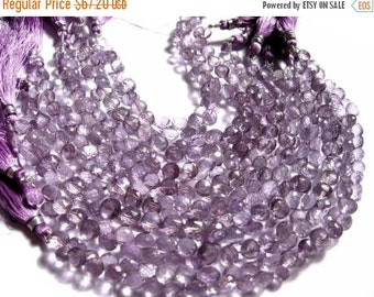 55% OFF SALE 7 Inches Strand - Pink Mystic Quartz Faceted Onions Briolettes Size 7mm Stunning Quality Wholesale price