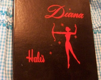 vintage nylon hosiery in diana box