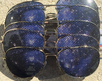 bulk deal Cosmic space graphic aviator sunglasses 5 pack