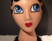 Landfill Ladies Prims - Hand Painted Mannequin Display Head / Style C