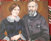 Sts. Louis and Zelie Martin 8 X 10 Print print ART Parents of Saint Therese the little flower Ready to Ship