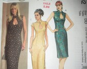 Uncut McCalls dress pattern size 12-18