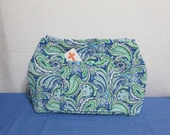 Blue/Green Paisley Bag