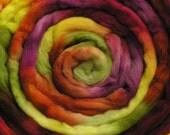 100g Space-Dyed Merino D' Arles Wool Top - Hellebore