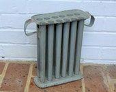 Antique Vintage Tin Candle Mold With Handles