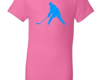 Kid's ice hockey t-shirt - MORE COLORS AVAILABLE