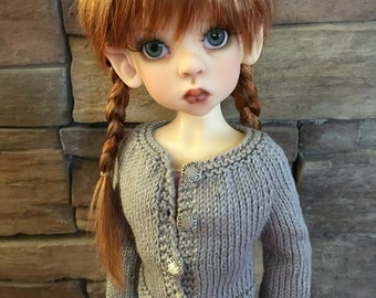 PATTERN to Knit Cardigan for Wiggs MSD Doll