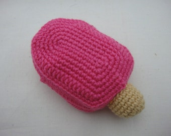 FREE SHIPPING Crochet Coin Small Purse - Lollipop
