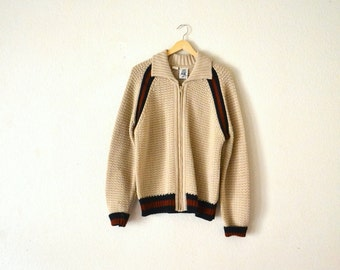 "1970's ""Kennington"" Knit Sweater"