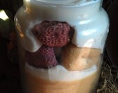 Strawberry Jelly Donut Soy Jar Candle