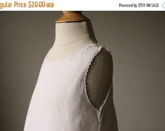 ON SALE 1950s Batiste Heirloom Slip Dress~Size 3 months