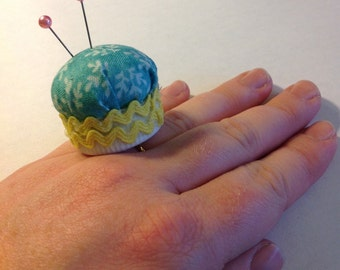 Bottle Cap Pin Cushion