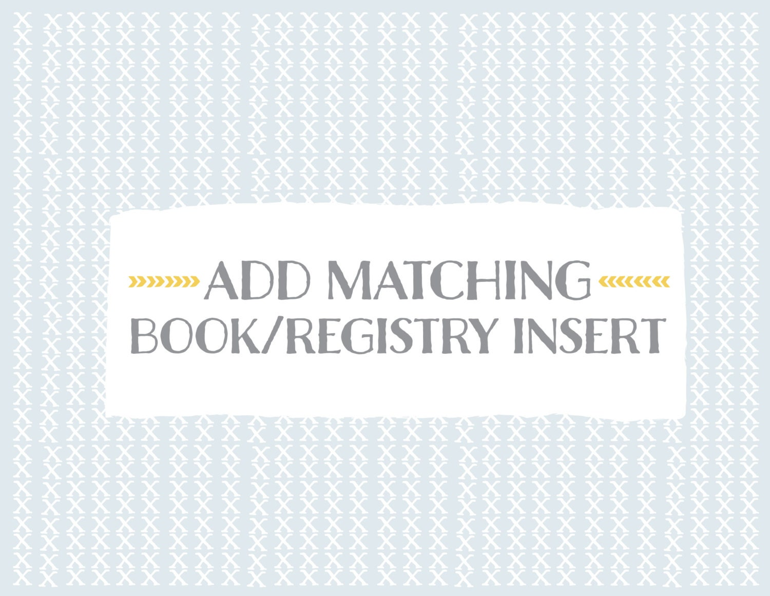 Add Matching Book And/or Registry Insert Book Instead Of