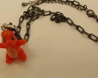 Charmander Pokemon Necklace