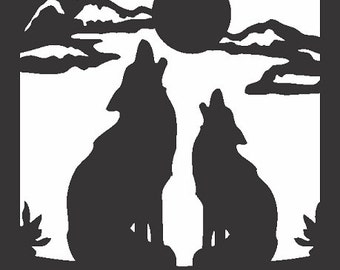 2 Wolves Howling