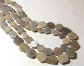 Rare Pink Purple Blue Grey Sapphire Slice Natural Untreated Nugget Beads Bi Tri Color