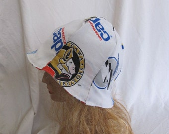 SALE - Hockey Lovers Cloche/Tulip Hat (5226)
