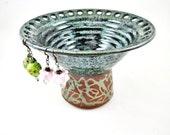 Large Jewelry holder, Jewelry vase, Earring holder, Earring vase, Earring organizer - In stock