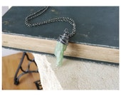 Green Kyanite Necklace