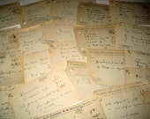20 Antique (1919 ish) Prescriptions for Papercrafting, etc.