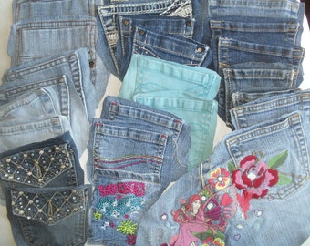 Denim Jean Pockets to Recycle smaller