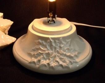 White (Medium) Ceramic Christmas Tree Base