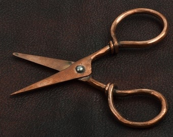 Scissor, copper vintage style each J536CO