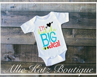 Im kind of a big deal baby onesie t shirt customize