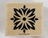 Stampin Up! - Square Floral Pattern Rubber Stamp #RS106