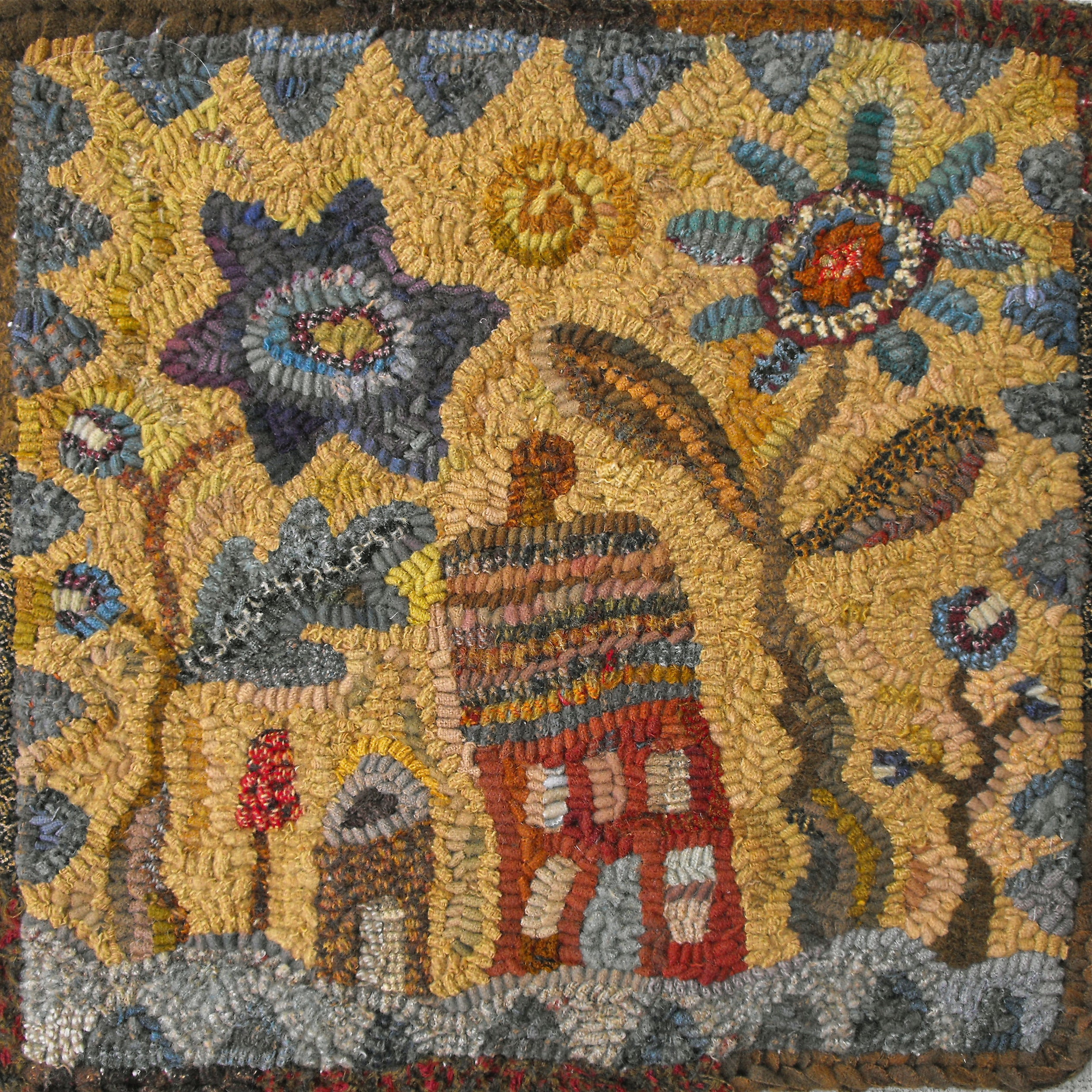 Primitive Patterns For Rug Hooking And By Primitivespirit