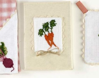 Cross stitch pattern VEGETABLES  cross stitch,needlepoint,embroidery,handmade,diy,kitchen,garden,scandinavian,swedish,green,anette eriksson,