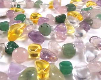 Gemstone Mix Nuggets, 6mm - 16mm, One Factory Strand