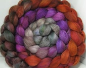 Merino Yak Bombyx Silk 60/20/20 Ecru Roving Combed Top - 5oz - Castle Stairs 1