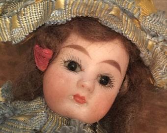 Antique Doll Marotte Rattle