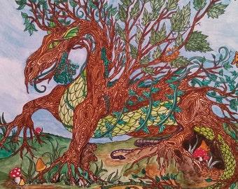"Silva Draconis ""Tree Dragon"""